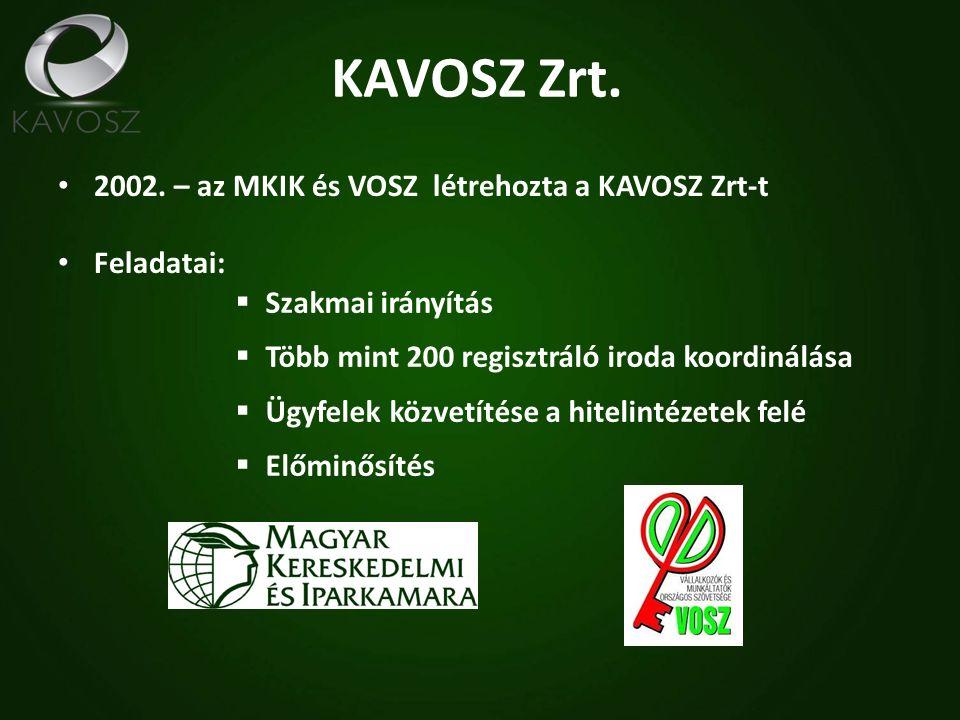KAVOSZ Zrt. 2002.