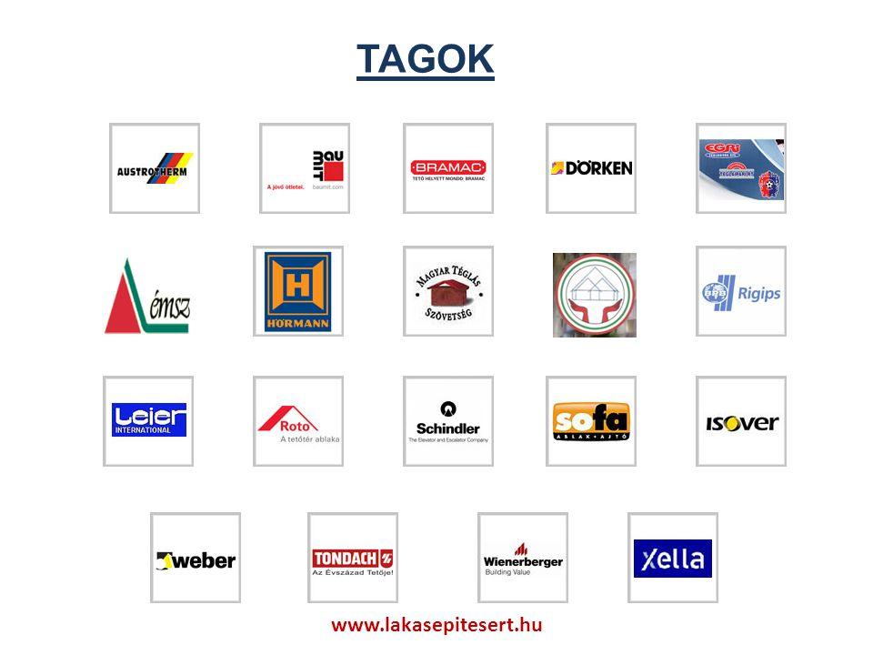 TAGOKk www.lakasepitesert.hu