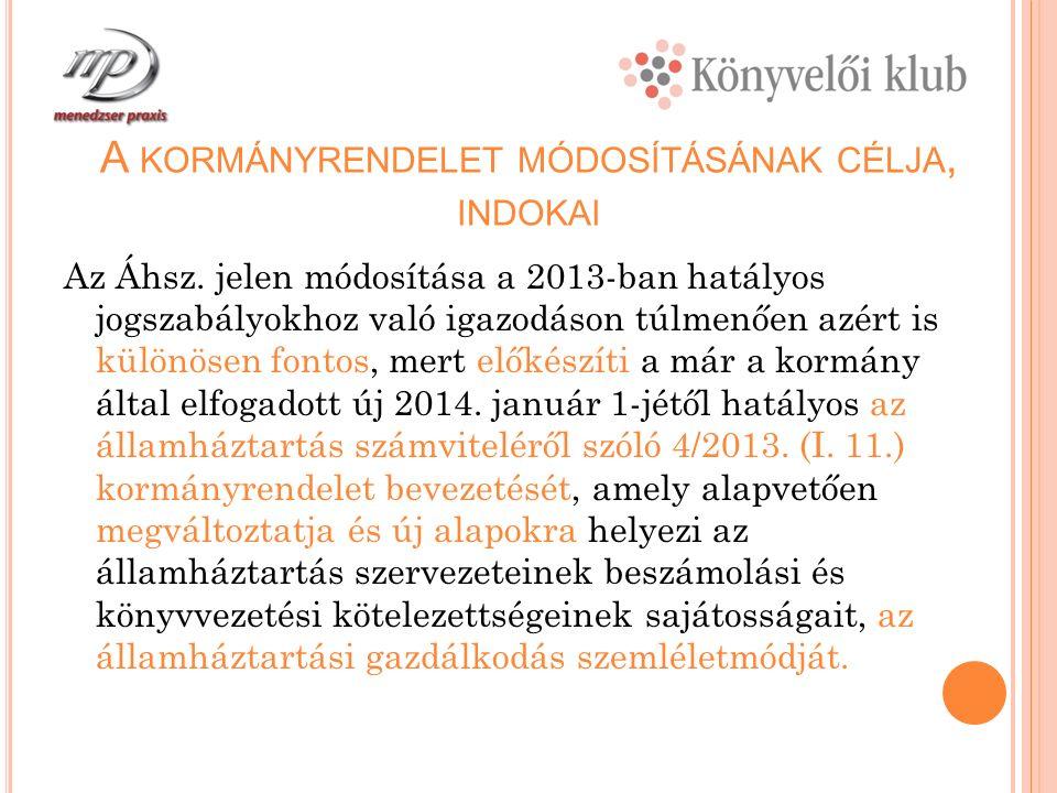 A 2012.ÉVBEN AZ ADÓSSÁGKONSZOLIDÁCIÓNAK A SZÁMVITELI ELSZÁMOLÁSA 3.