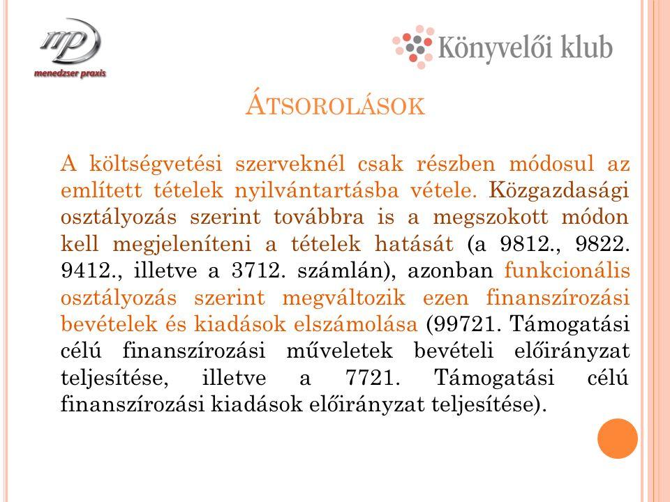 A Z Á HT.2013 ÉVI MÓDOSÍTÁSAI Az Aht. 6.§ (2) bekezdés értelmében.a 2013.