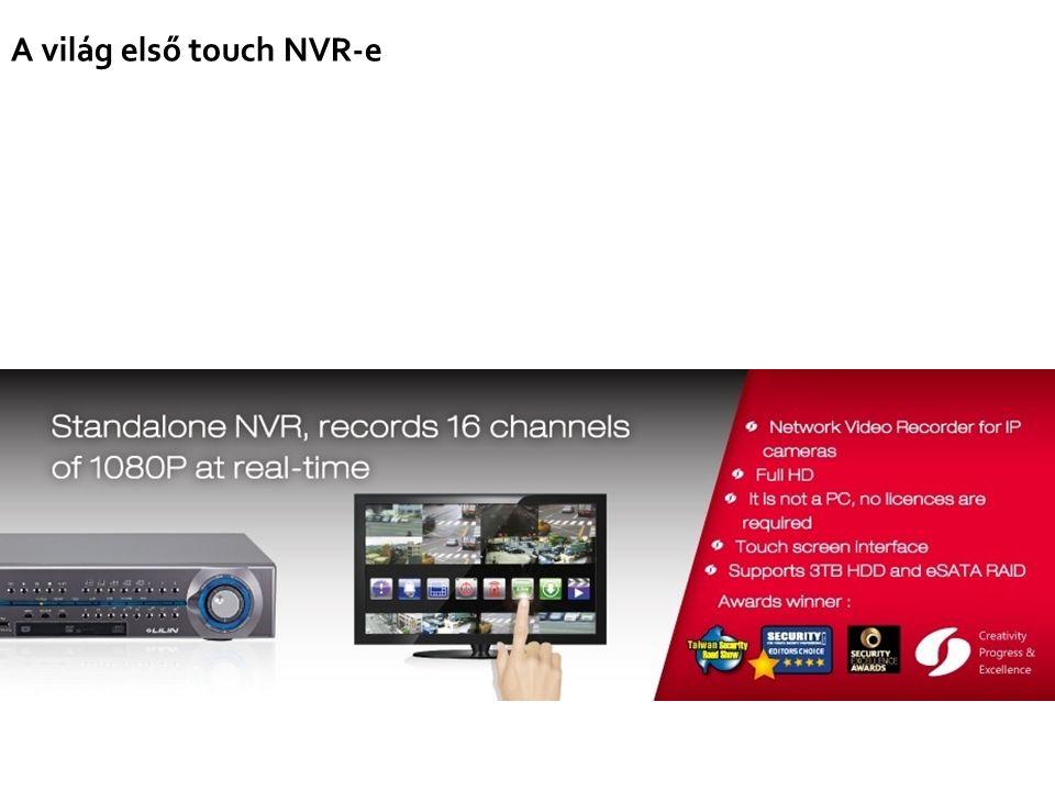 A világ első touch NVR-e