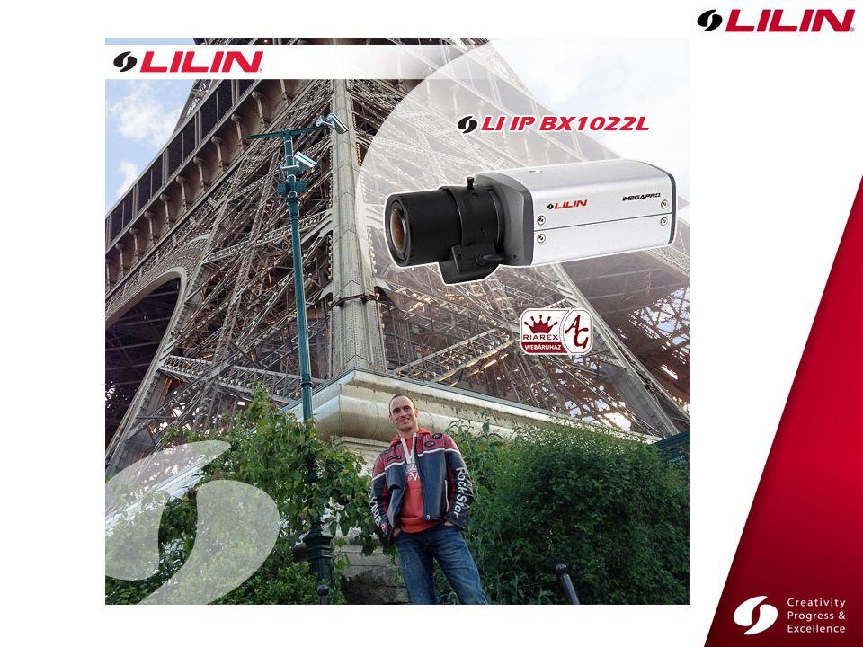 LILIN Kamerák LILIN NVR LILIN IP VD022 LILIN CMX A gyártói oldal használata Az előadás tematikája