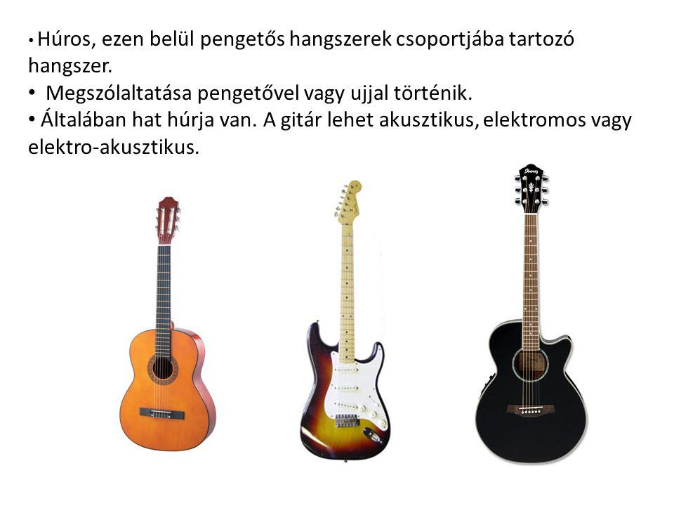 Húros, ezen belül pengetős hangszerek csoportjába tartozó hangszer.