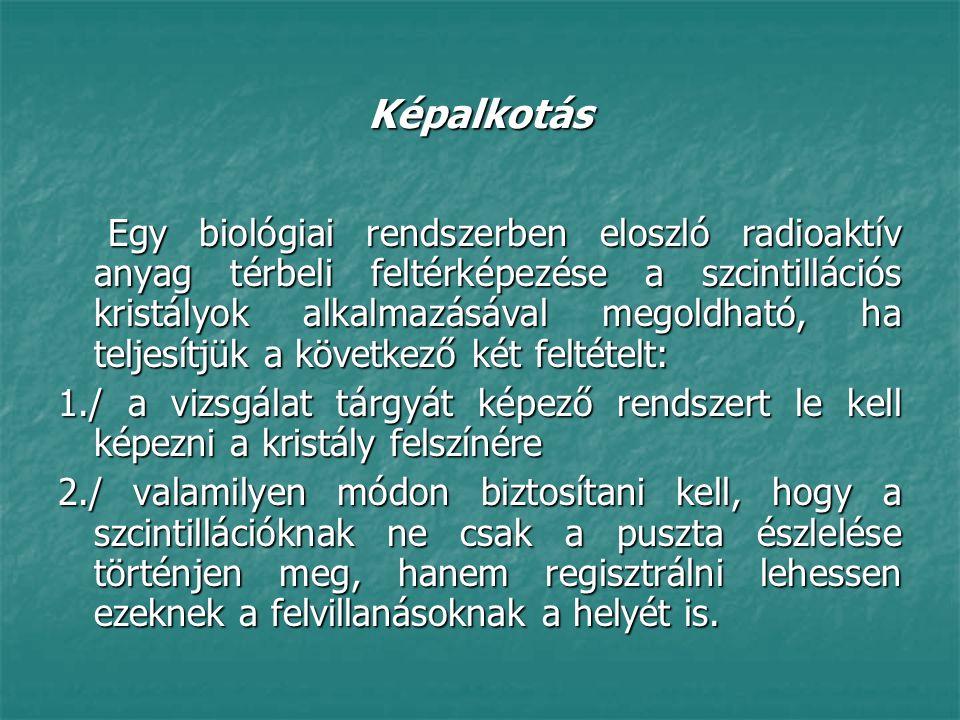 PET: pozitron emissziós tomográfia Egészséges embernél is érdekes kutatásokat lehet végezni.