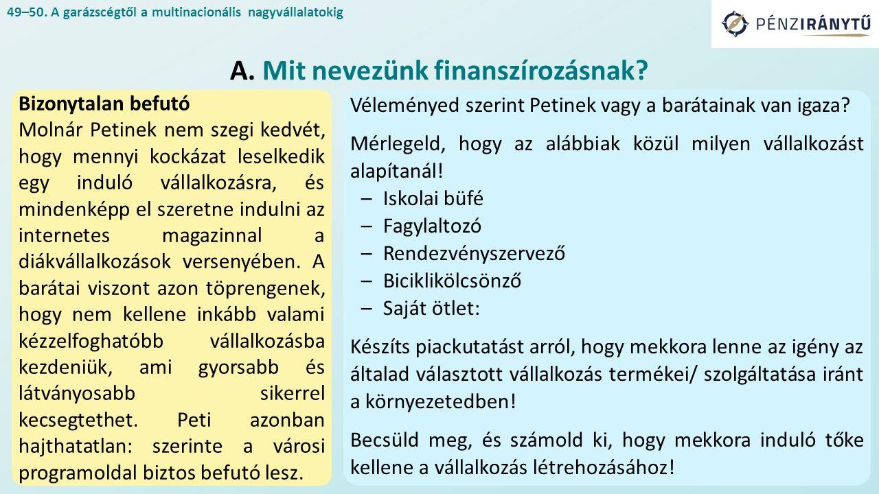 Bizonytalan befutó Molnár Petinek nem szegi kedvét, hogy mennyi kockázat leselkedik egy induló vállalkozásra, és mindenképp el szeretne indulni az internetes magazinnal a diákvállalkozások versenyében.