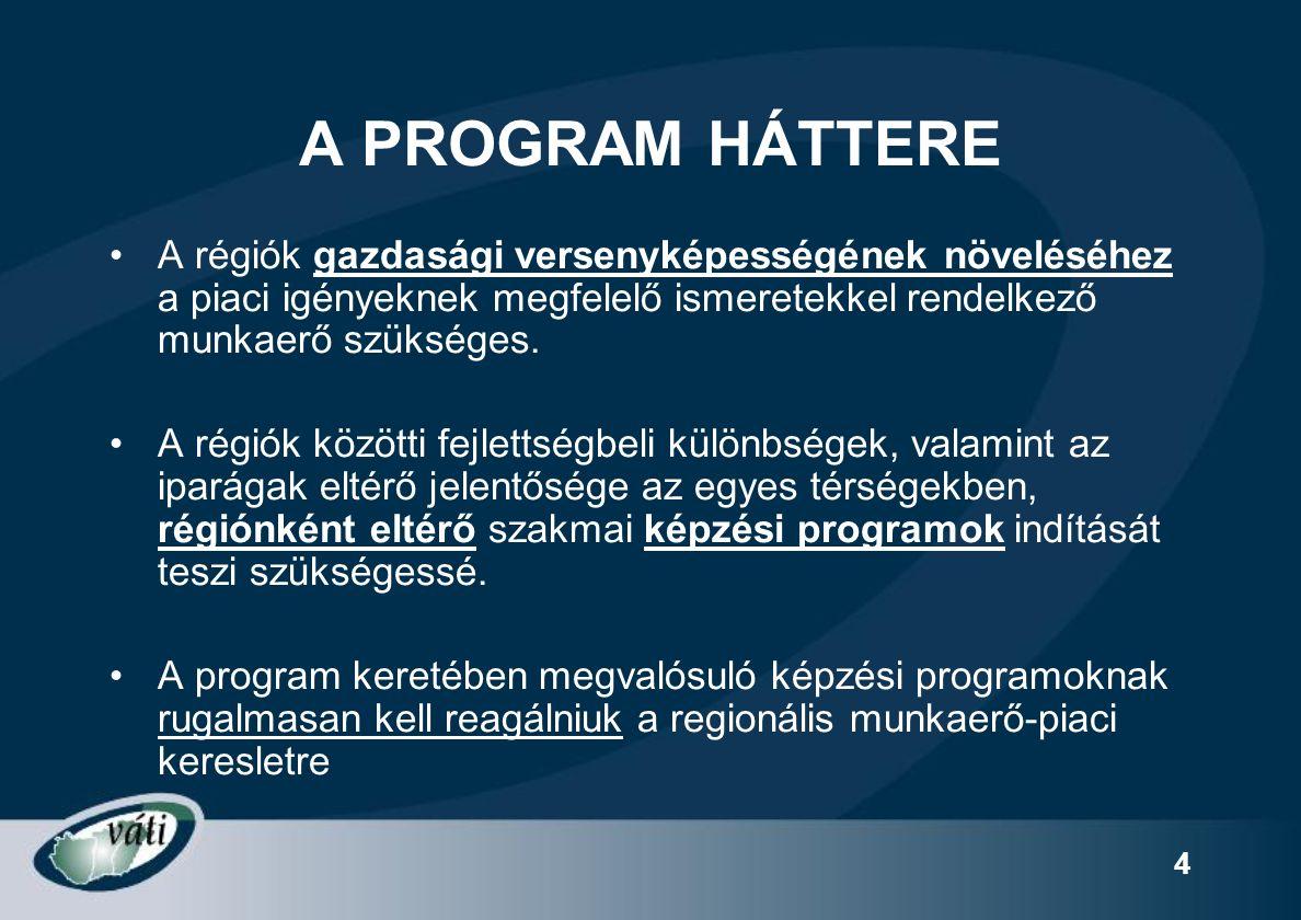25 A képzési programokkal szemben elvárt kritériumok 3.