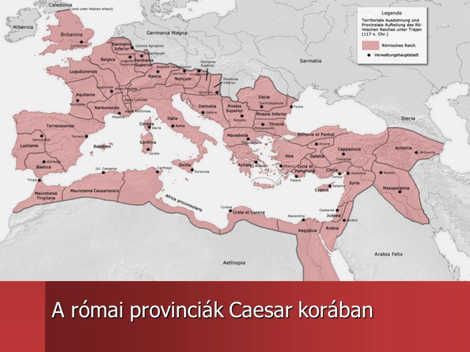 A római provinciák Caesar korában