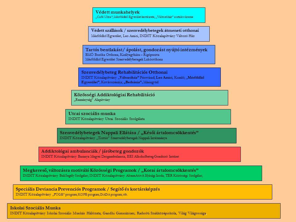 """Iskolai Szociális Munka INDIT Közalapítvány Iskolai Szociális Munkás Hálózata; Gandhi Gimnázium; Radnóti Szakközépiskola, Világ Világossága, Speciális Deviancia Prevenciós Programok / Segítő és kortársképzés INDIT Közalapítvány """"FÜGE program; KOPÉ program; DADA program; stb."""