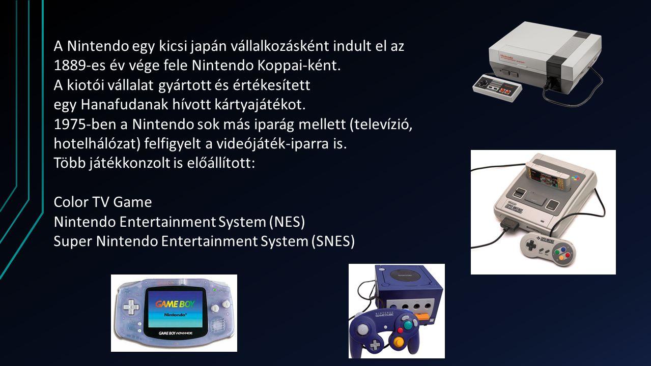 A Nintendo egy kicsi japán vállalkozásként indult el az 1889-es év vége fele Nintendo Koppai-ként.