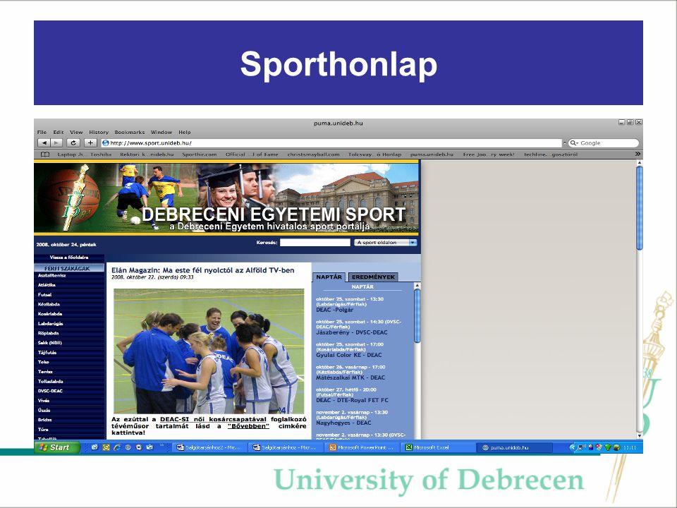 Sporthonlap