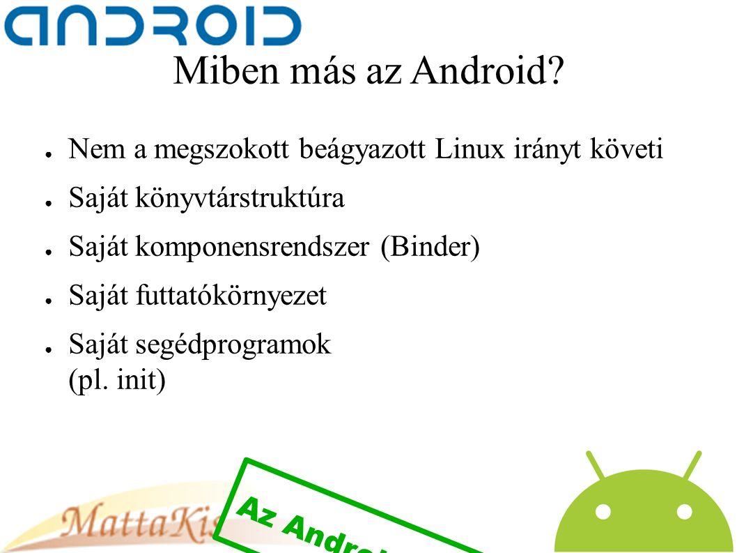 Miben más az Android.