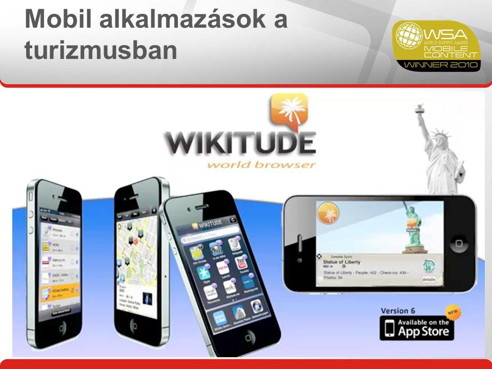 Mobil alkalmazások a turizmusban