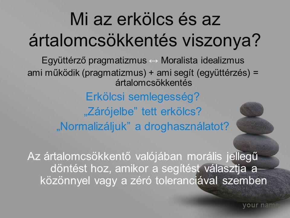 your name Mi az erkölcs és az ártalomcsökkentés viszonya.