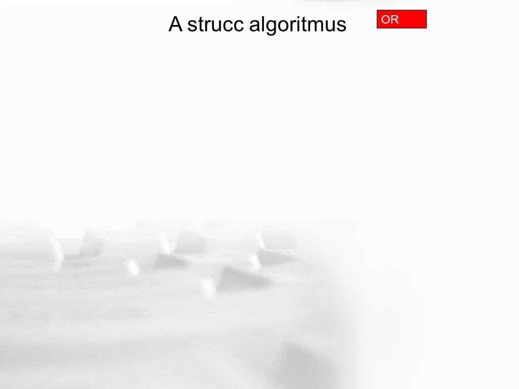 A strucc algoritmus OR 189