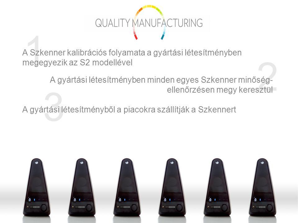 5 4 A Szkenner átvételét követően a piacokon minden egyes Szkennert a gyártási létesítményben használt minőség-ellenőrzéssel azonos vizsgálatnak vetnek alá, mielőtt előkészítenék az eszközt az Üzletépítő részére történő kiszállításhoz Amennyiben a minőség-ellenőrzés során egy Szkennerben kivetnivalót találnak, a piacról visszaküldik a gyártási létesítménybe javításra