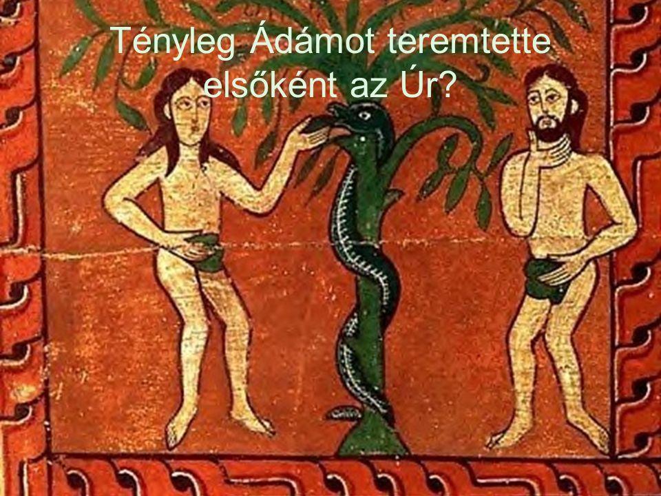 Tényleg Ádámot teremtette elsőként az Úr?