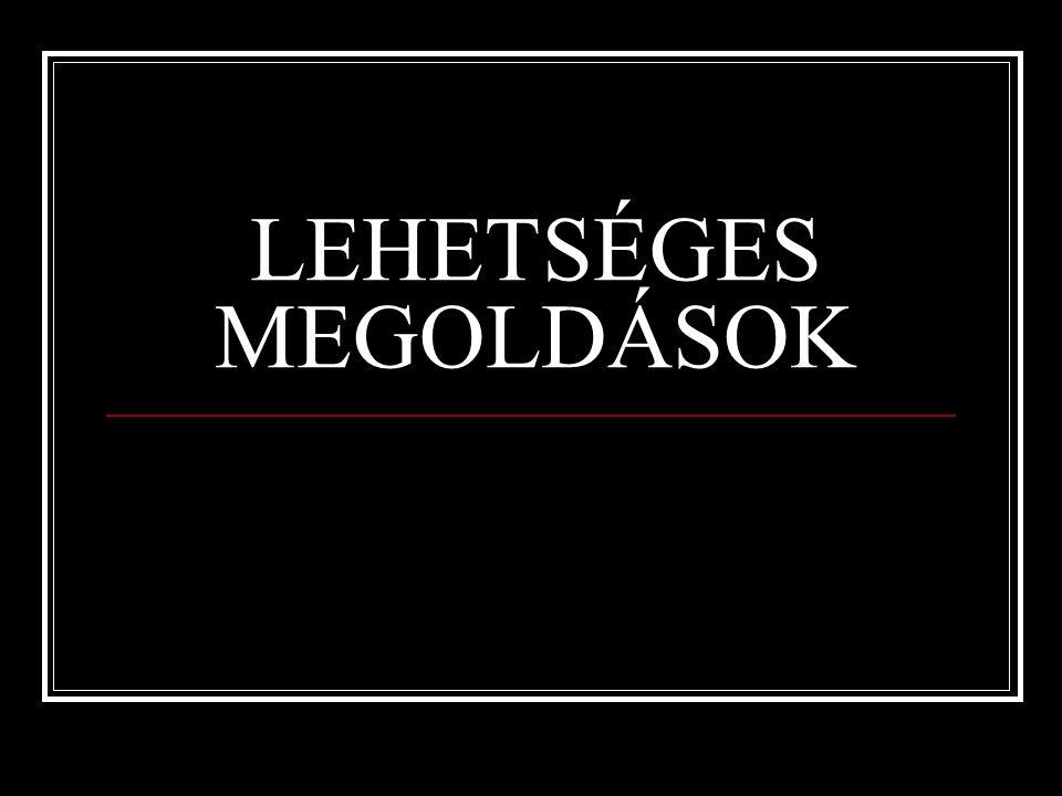 LEHETSÉGES MEGOLDÁSOK