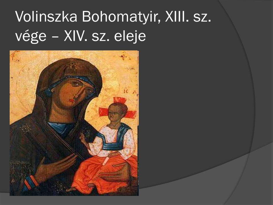 Volinszka Bohomatyir, XIII. sz. vége – XIV. sz. eleje