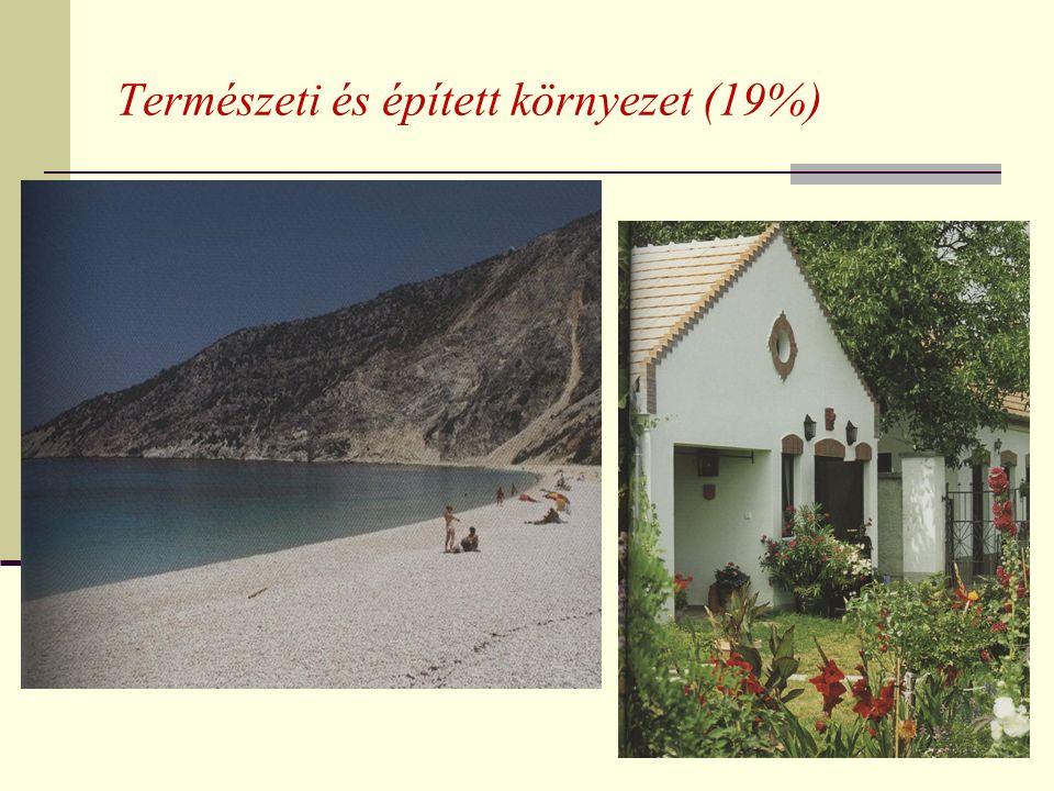 Természeti és épített környezet (19%)