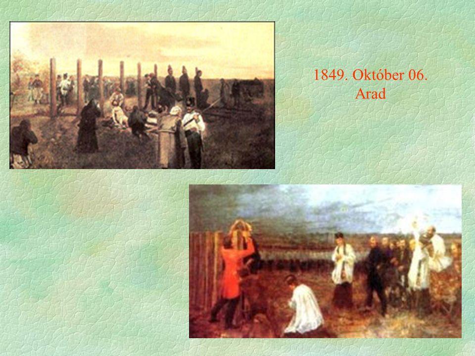 1849. Október 06. Arad