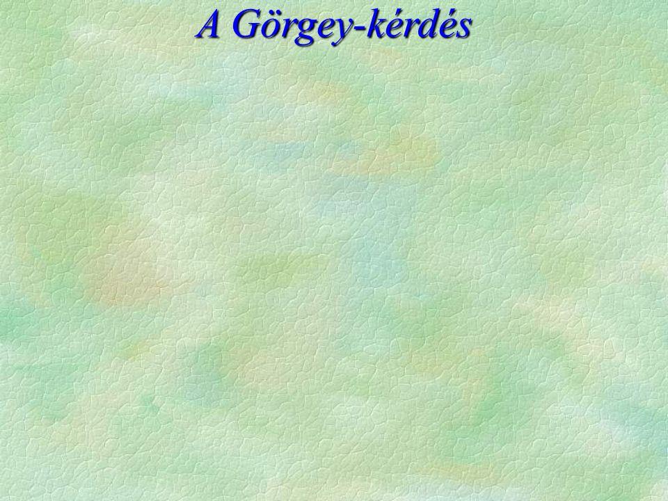 A Görgey-kérdés