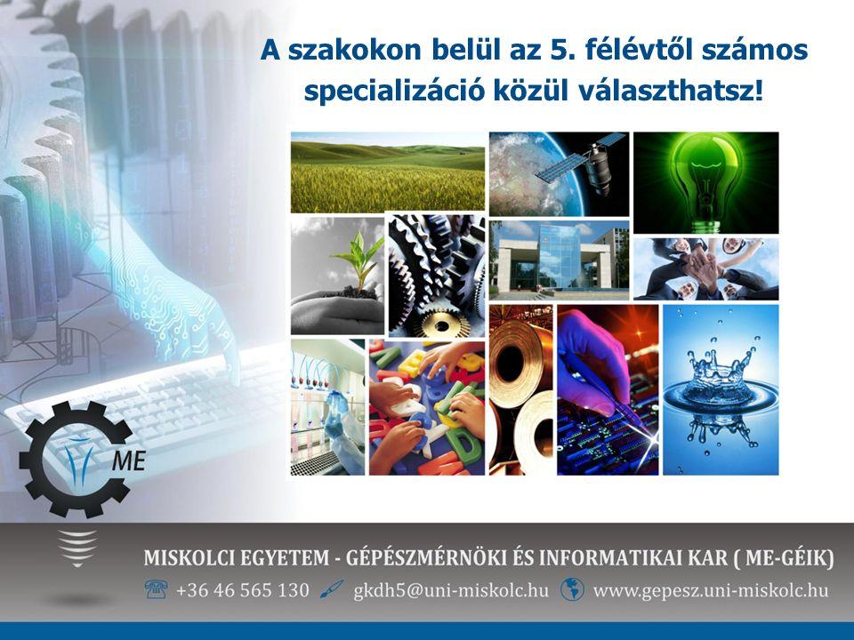 Sávok és specializációk Energetikai mérnöki alapszak (BSc) Az energiahatékonyság, energiabiztonság szakértője.