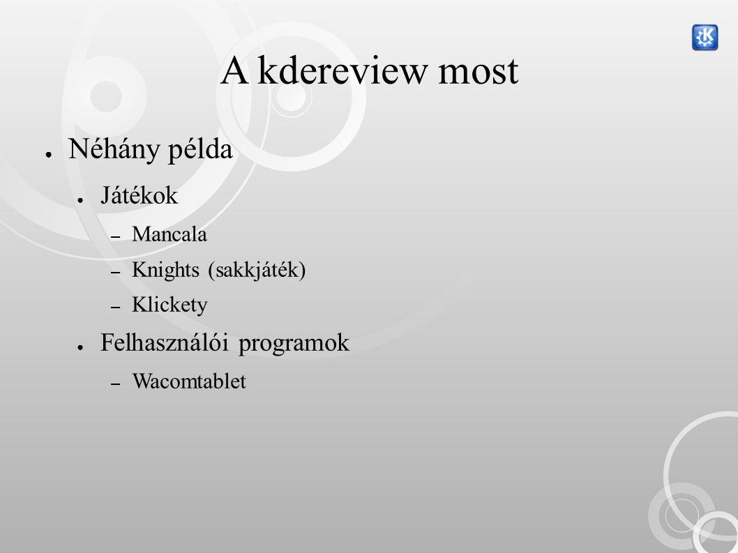 A fordítás menete ● Ideális esetben (KDE translation how-to szerint…) ● Egy SVN fiókkal rendelkező koordinátor ● Ellenőrzött fordítók ● A valóságban ● Több SVN fiókkal rendelkező ember ● Kevés tényleges fordító és közreműködő