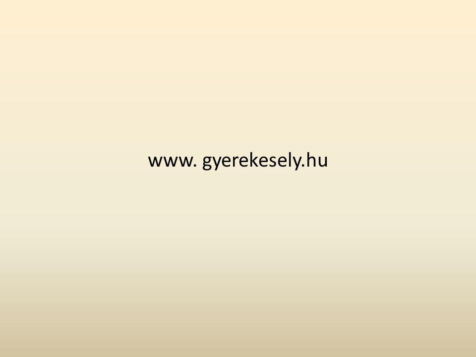 www. gyerekesely.hu