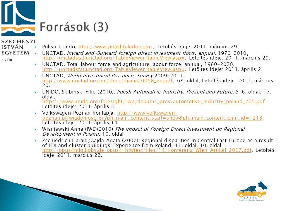  Polish Toledo, http://www.polishtoledo.com/, Letöltés ideje: 2011.