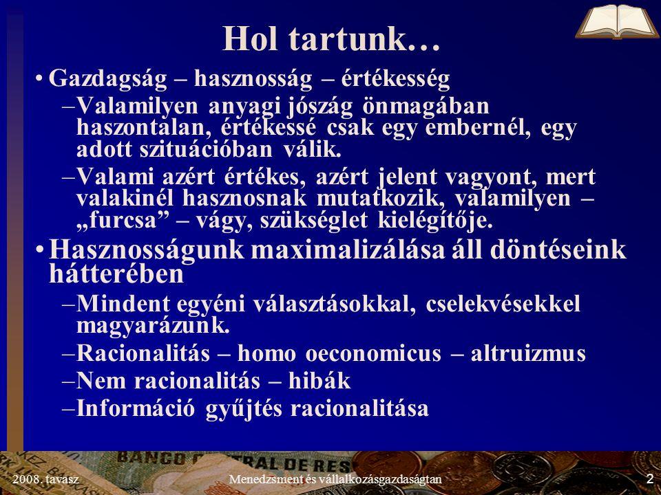2008.tavasz33Menedzsment és vállalkozásgazdaságtan 1.2.2.
