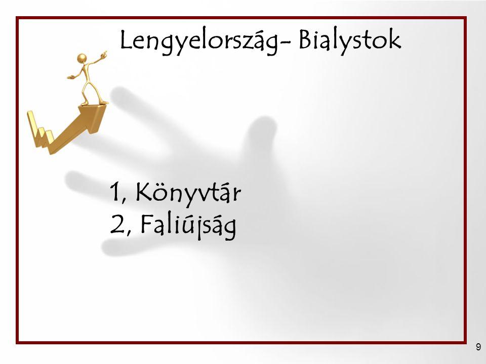 Lengyelország- Bialystok 9 1, Könyvtár 2, Faliújság