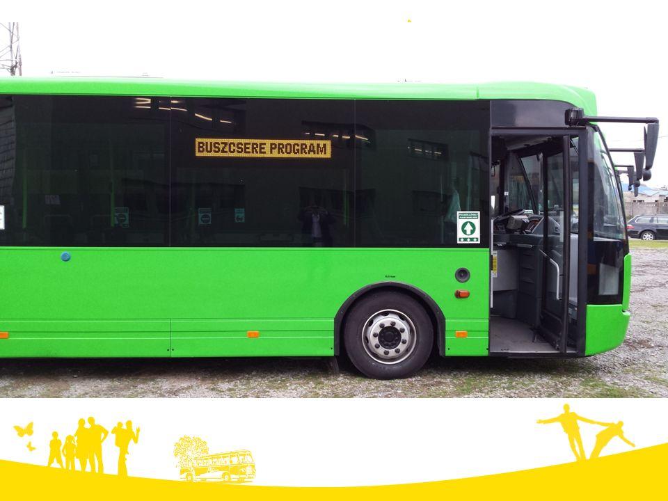 BUSZCSERE PROGRAM A Tüke Busz által beszerzett buszok kivétel nélkül mind alacsonypadlósak.
