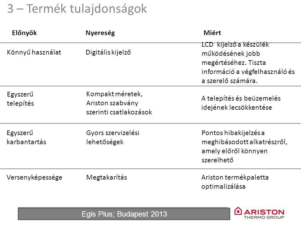 June'11Egis Plus 3 ElőnyökNyereségMiért Digitális kijelző LCD kijelző a készülék működésének jobb megértéséhez. Tiszta információ a végfelhasználó és