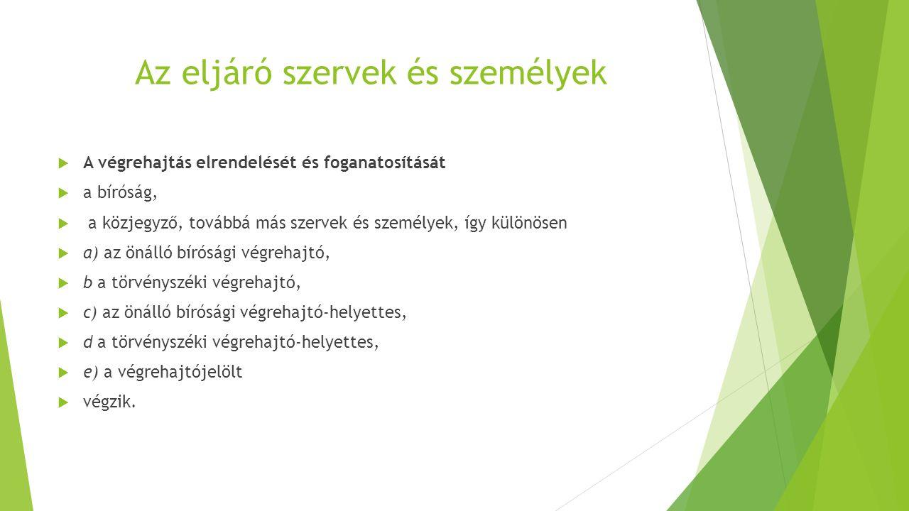A Végrehajtói Kar  A végrehajtók szakmai és érdek-képviseleti szerve a Kar.
