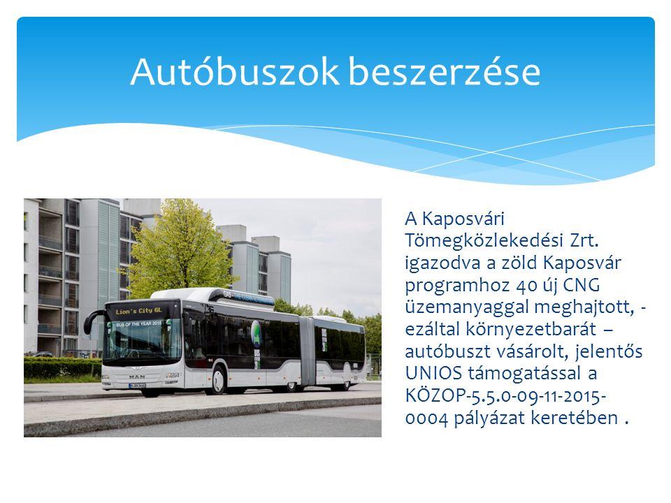 A Kaposvári Tömegközlekedési Zrt.