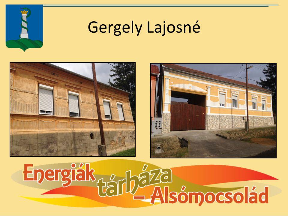 Gergely Lajosné