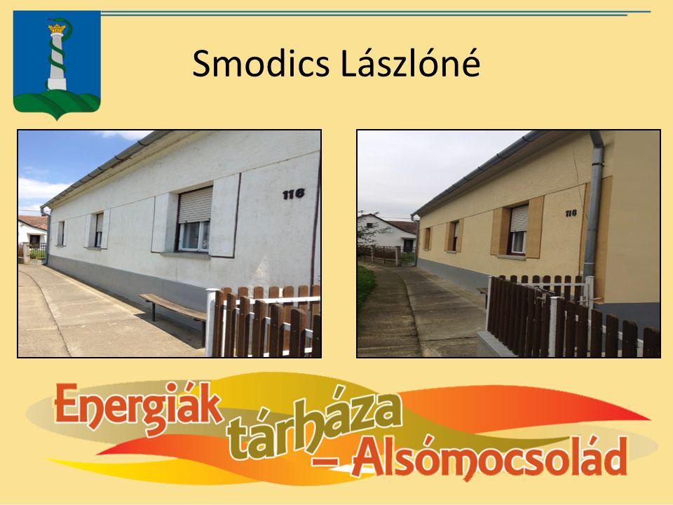 Smodics Lászlóné