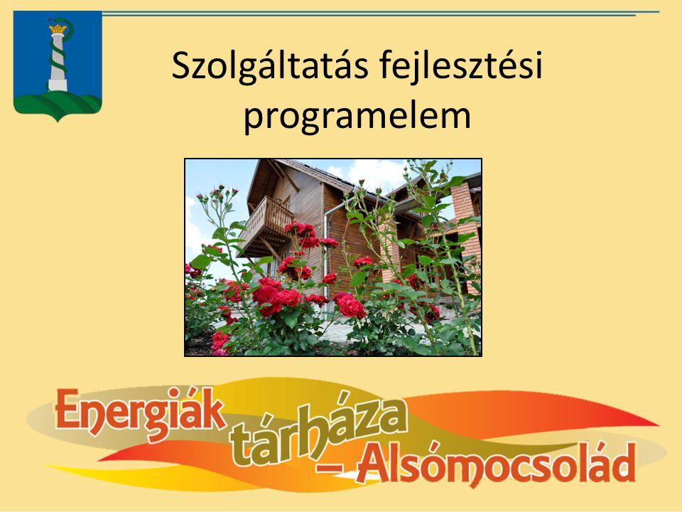 Szolgáltatás fejlesztési programelem