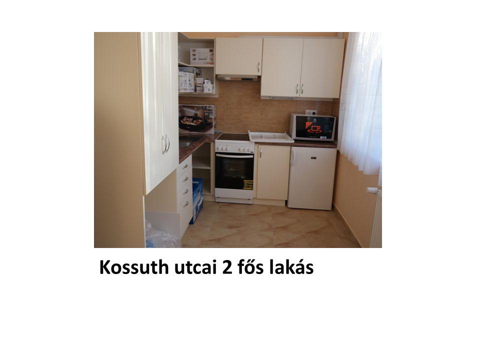 Kossuth utcai 2 fős lakás