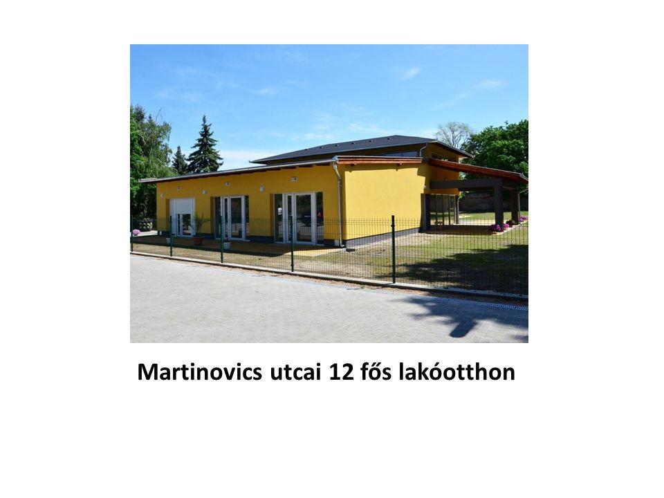 Martinovics utcai 12 fős lakóotthon