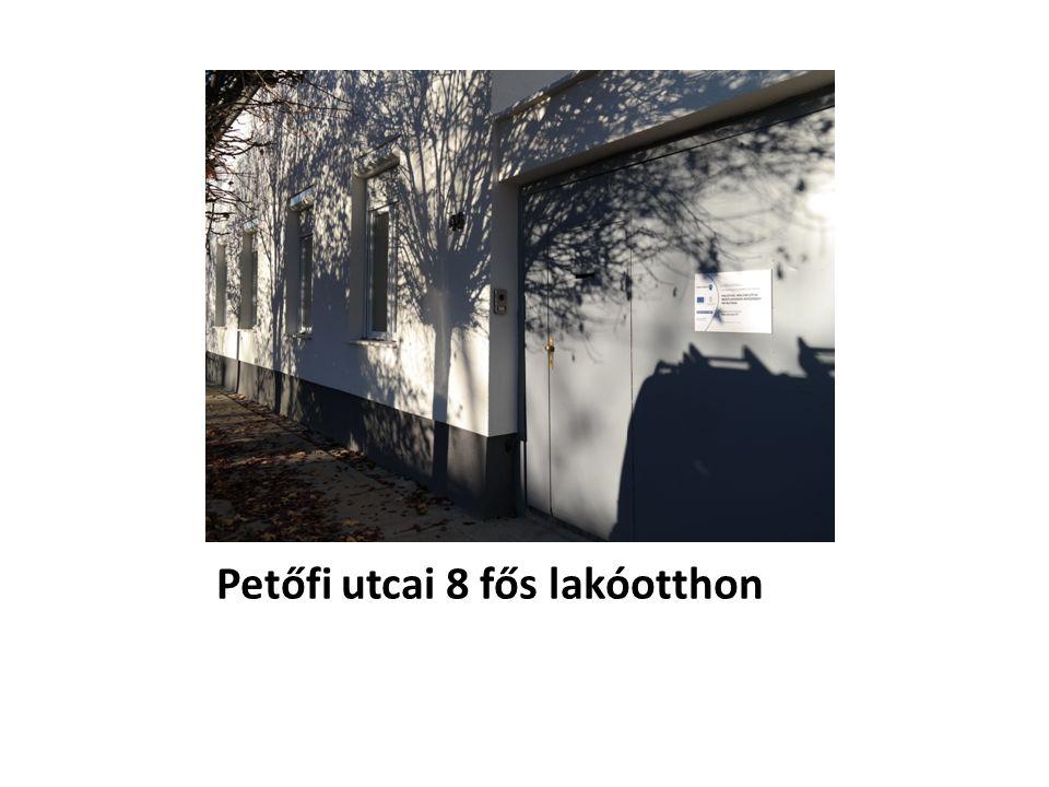 Petőfi utcai 8 fős lakóotthon