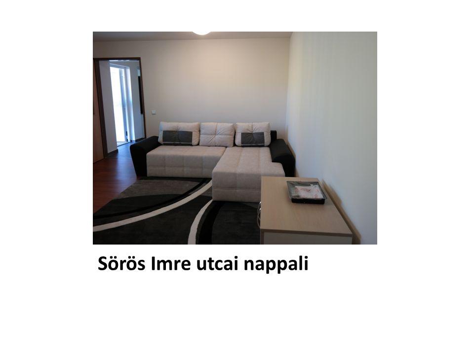 Sörös Imre utcai nappali