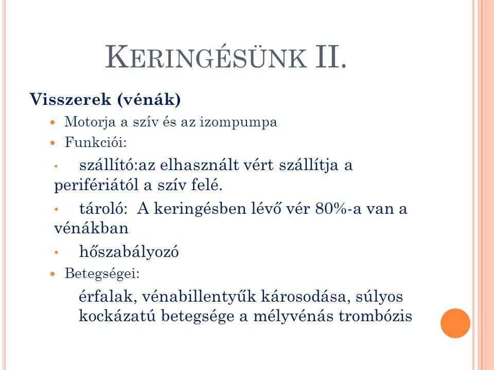 K ERINGÉSÜNK III.
