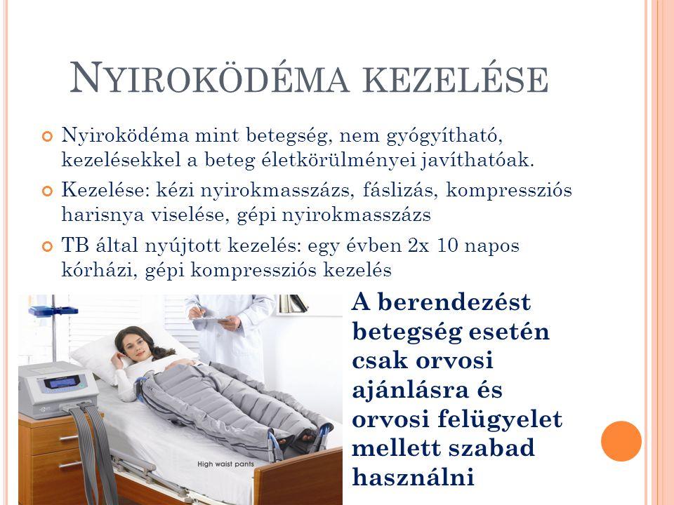 H ULLÁMMASSZÁZS ALKALMAZÁSI TERÜLETEI Prevenció Általános keringés javítás (érrendszeri problémák) Mozgásszervi rehabilitáció Műtétek, balesetek utáni terápiás kezelés Cukorbetegség Lymphoedema kezelése Mélyvénás trombózis Visszér tágulat Görcs hajlam Méregtelenítés Nehéz lábak kezelése Cellulit állapotok javítása Karcsúsítás Arckezeléseket kiegészítő többletszolgáltatás