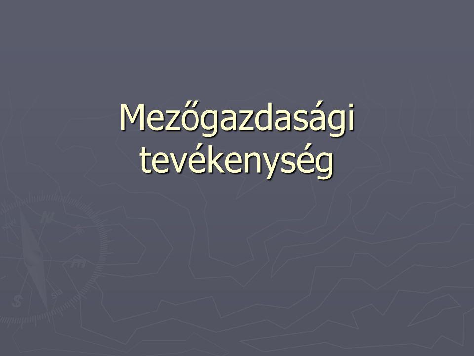 FORDÍTOTT ADÓZÁS A MEZŐGAZDASÁGBAN A fordított adózást az 58.