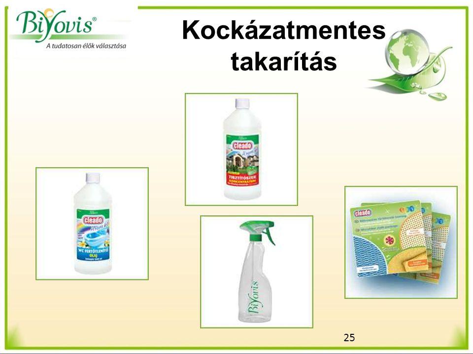25 Kockázatmentes takarítás