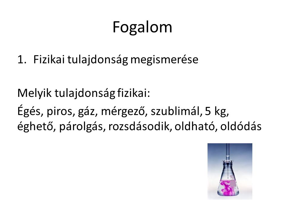 Tényszerű ismeretek 11.Válaszd ki, melyik elem: Levegő, hipermangán, oxigén, konyhasó, csapvíz, desztilláltvíz, kén, szén, szén-dioxid, vas, arany, rizseshús, magnézium, kőolaj, földgáz, vas, homok, rézgálic, jód, metán, cukor, alkohol, nitrogén, nemesgázok