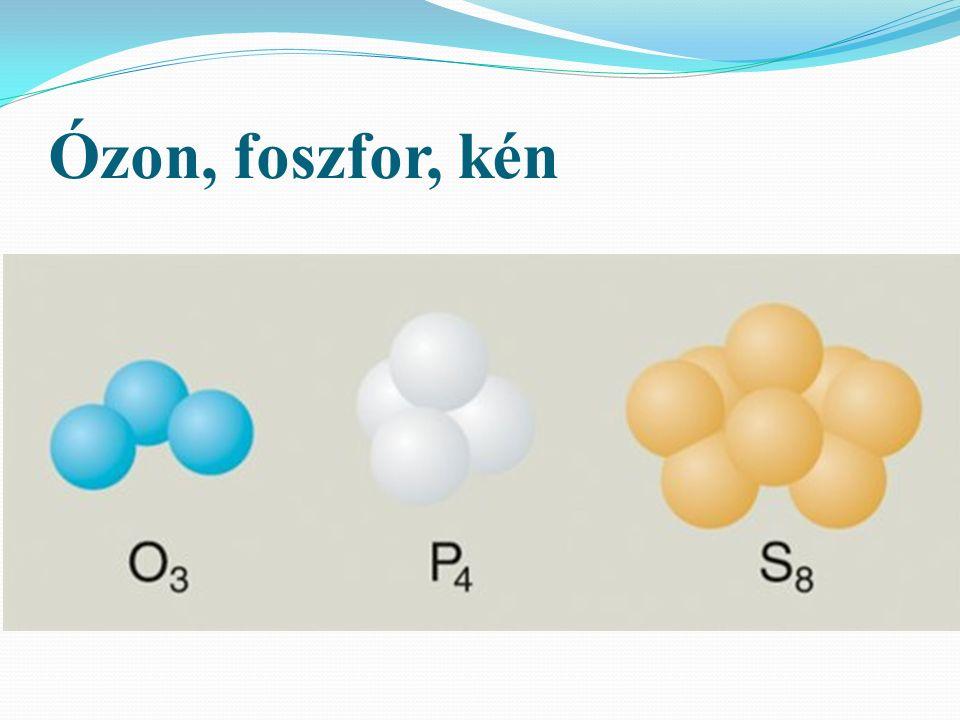 Ózon, foszfor, kén