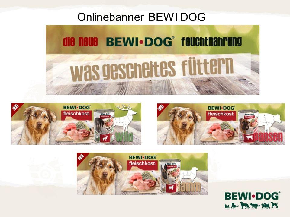 Onlinebanner BEWI DOG