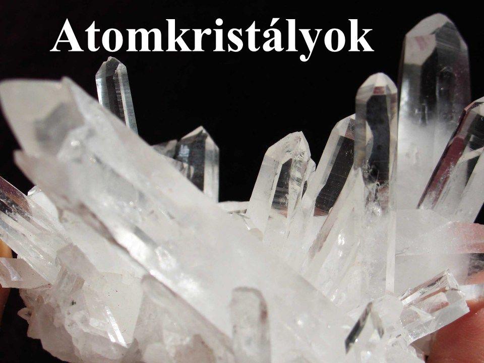 Atomkristályok